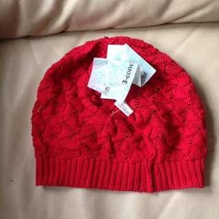 3-Concepts 冷帽紅色