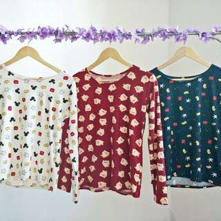 Mickey Mouse/Piggy Longsleeves