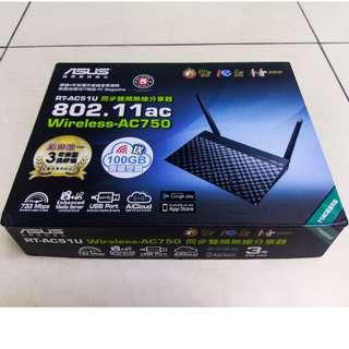 ASUS 華碩 RT-AC51U 無線分享器路由器 AC750