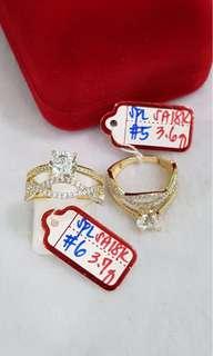 18k Saudi Gold Ring's