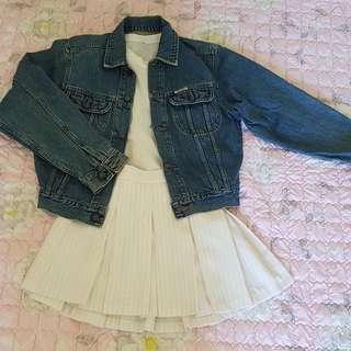 😢RUSH!😢Real Vintage Denim Jacket
