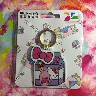 造型悠遊卡匙扣 - Hello Kitty 牛奶款