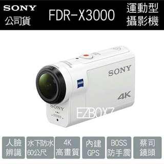 🚚 Sony FDR-X3000 運動型攝影機