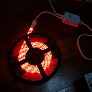 Multicolour music activated LED strip (2M)