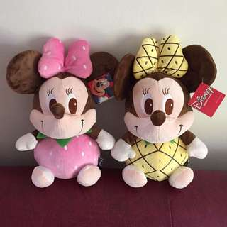 Minnie Mouse(pinapple&strawberry)