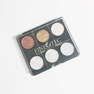 coliro finetec pearl colors palette of 6