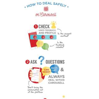 How to deal Safely In Carousell