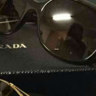 Authentic Prada sun glasses