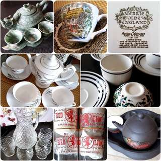 Collector's Tea Set Dining Set & Many More