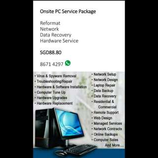 PC service package
