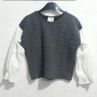 Longsleeved blouses @99 each
