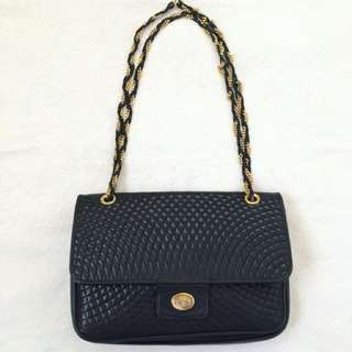 Vintage Bally quilted bag