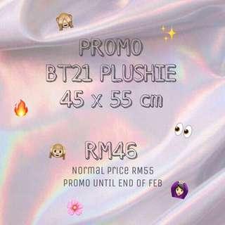 (PROMO) BT21 PLUSHIE
