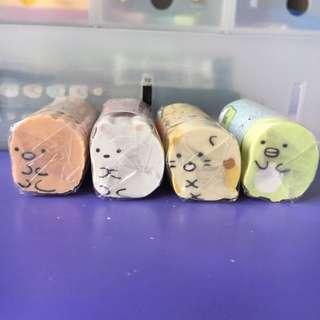 Sumikko Gurashi Erasers