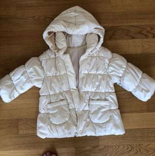 Winter coat for Girl size 90