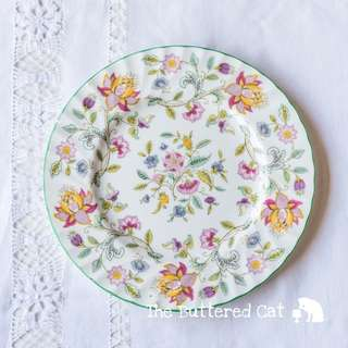 RESERVED Vintage Minton Haddon Hall 20cm plate