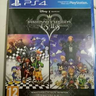 BD kingdom hearts 1.5 dan 2.5 remix ps4