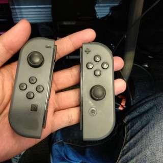 Original Joy con Nitendo Switch gray controller Set