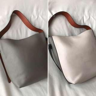 M Studio Emma Tote Bag Italian Leather