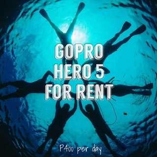 FOR RENT ‼️ GoPro hero 5