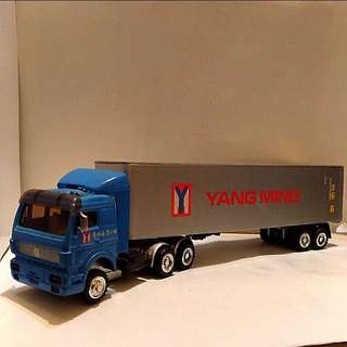 陽明海運模型貨櫃車