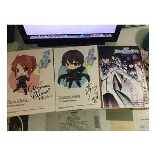 [Hobby/Collectible] The Irregular Magic at Magic High School Set of Prints w/ seiyuu's signatures