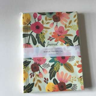 Rifle paper co botanical journal