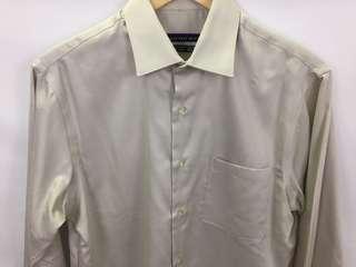 Geoffrey Beene Classic Fit Button Up dress shirt men's size 15
