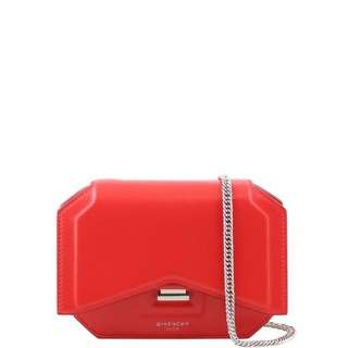 GIVENCHY bow cut leather crossbody shoulder bag