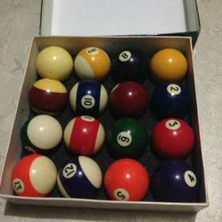For sale billiard ball spalding orig never been use. 2k nlng rush