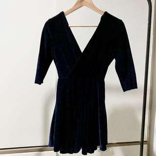 Flare Velvet Dress