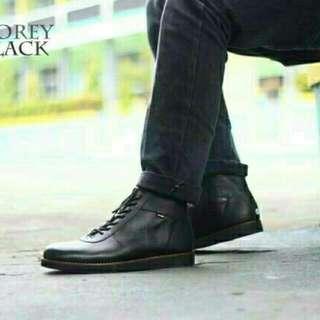 Sepatu pria kulit cevany corey