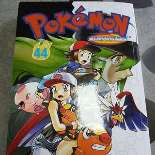 Pokemon adventures no 44