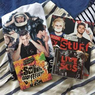 5 Seconds of Summer Merch Bundle