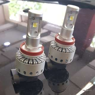 H8/9 Cree LED Bulbs, very bright!