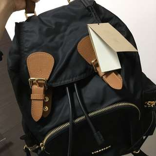 Burberry Backpack 100%real & New