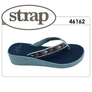 """Strap EVA Sandals - Fashion Design (Black or Navy ) """"FlipFlop Design Alike"""""""