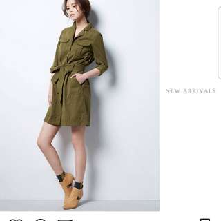 Iroo trench coat or dress