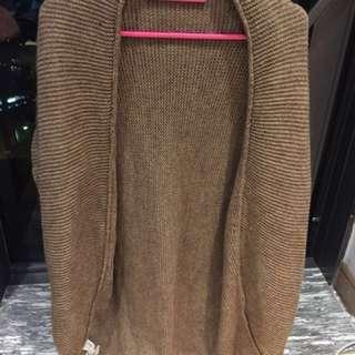 Mango wool sweater jacket