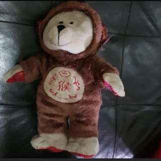 Brand new with tag starbucks monkey year