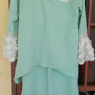 Baju Kurung Moden for girl
