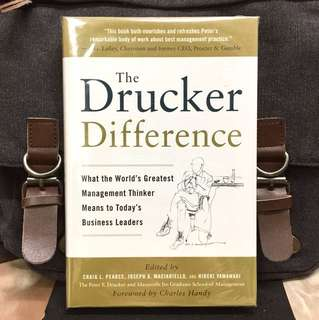 # Highly Recommended《Bran-New + Hardcover Edition + What Today's Business Leaders Can Learn From The Most Influential Management Thinker Of All Time》THE DRUCKER DIFFERENCE : What the World's Greatest Management Thinker Means to Today's Business Leaders