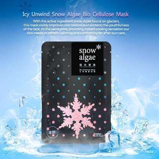 Timeless Truth Icy Wind Snow Algae Bio Cellulose Mask