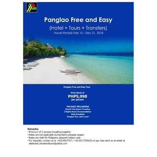 Panglao Free and Easy Tour