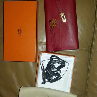 Hermas Kelly Wallet