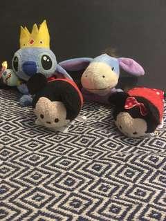 Small Disney plush toys