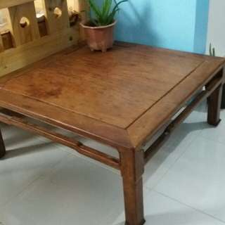 Center Table Solid Wood