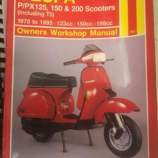 Vespa PX series Manual