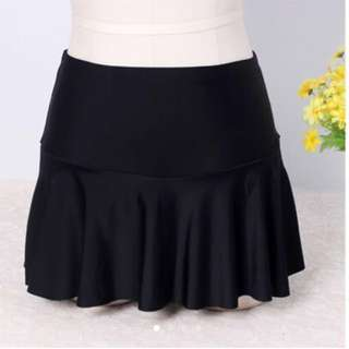 In Stock 💕Ladies High Waist Boxer Culottes Covered Belly Stretch Mark Scars Matching Bikini Dress