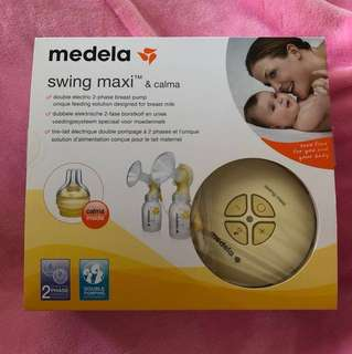 [NEW] Medela Swing Maxi Double Breast Pump & Calma & Free gifts